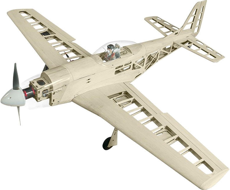 SUPER FLYING MODEL P-51D Mustang 40 EP HOLZBAUSATZ B07762NPPG Spielzeugwelt, spielen Sie Ihre eigene Welt   | Quality First