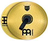 """Meinl 14"""" Marching Cymbal Pair with Straps - Brass Alloy Traditional Finish - Made In Ge..."""