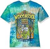 Líquido azul blanco lago Woodstock Poster Ss Tee - Blanco - Medium