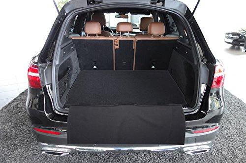 tuning-art 2914 Kofferraummatte für Mercedes GLC EQC 2-teilig mit Ladekantenschutz