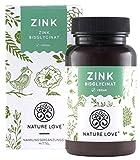 Nature Love® | Zink | 25 mg | 365 tabletten | Veganistisch