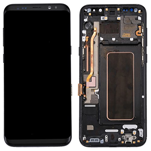 Compatibele Vervangings IPartsBuy for Samsung Galaxy S8 + / G955 LCD-scherm + Touch Screen met Frame Accessory (Color : Black)