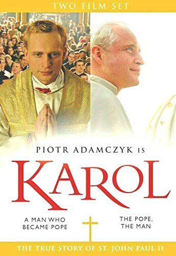 KAROL TWO FILM SET A MAN WHO BECAME POPE & THE POPE, THE MAN. TRUE STORY OF JOHN PAUL II TWO DVD SET
