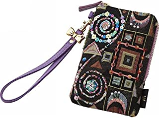 nobrand クリムトスペシャル ポーチ(ストラップ付) 財布 その他 ブラック(8411-02)