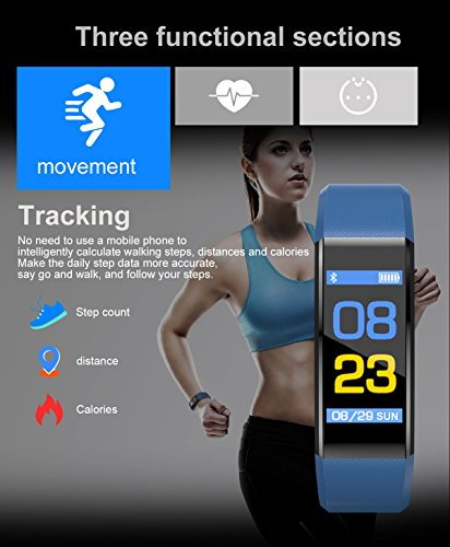 Symfury-Fitness-Tracker-HR-Activity-Tracker-Smart-Watch-with-Heart-Rate-Monitor-Waterproof-Sport-Wristband-with-Step-Counter-Calorie-Counter-Pedometer-Watch-for-Kids-Women-Men