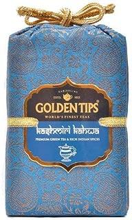 Golden Tips Kashmiri Kahwa Green Tea - Brocade Bag, 200g
