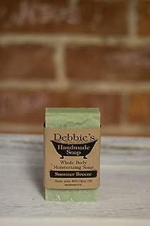 Debbie's Handmade Soap Summer Breeze (4 bars)