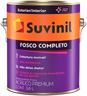 Tinta Suvinil acrilico fosco completo 3,6L - Branco Neve - 53398916