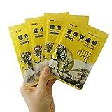 HELLOYOUNG 8 pezzi balsamo di tigre cinese Erbe cinesi Intonaci medici per intonaci curativi del collo articolari Ginocchiere per unguenti