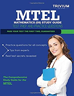 MTEL Mathematics (09) Study Guide: Test Prep and Practice Questions