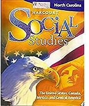Harcourt Social Studies North Carolina: Student Edition (5-Year Subscription) Grade 5 Us/Canada/Mexico/Central America 2009