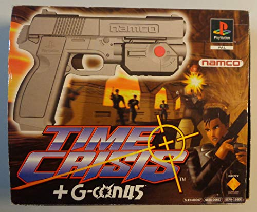 Time Crisis + G-Con 45 Light Gun (PS1/2)