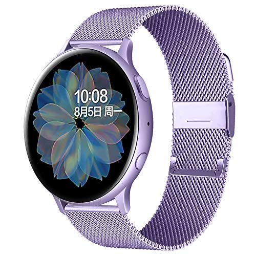 Stan Lee Watch Band Compatible with Samsung Galaxy Watch (46mm), 22mm Stainless Steel Magnetic Mesh Watch Band Quick Release Strap for Samsung Gear S3 Classic/Frontier