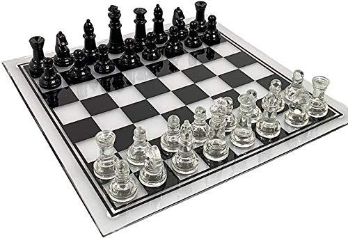 35 cm x 35 cm tablero de ajedrez acrílico grande anticaída elegante...