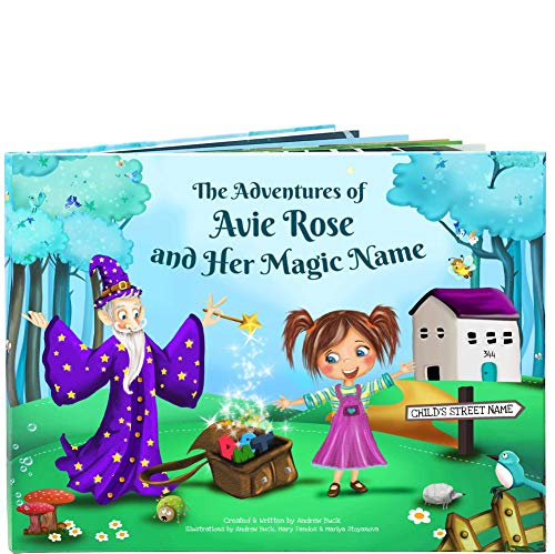 Personalized Baby Book - A Beautiful Personalized Story Book - Every Book is Unique and Custom Made