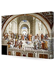 DECORARTS - The School of Athens, Raphael Art Reproduction. Giclee Canvas Prints Wall Art for Home Decor 30x24 x1.5 by Decor Arts International Corp