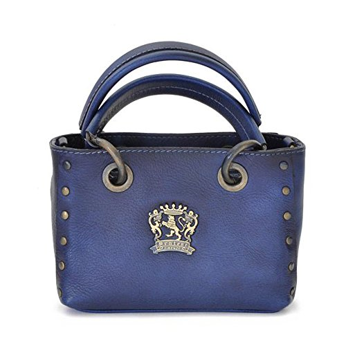 Pratesi Bagnone kleine Damentasche - BBL158 Bruce Blau