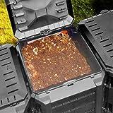 Zoom IMG-1 deuba compostiera da giardino 380l