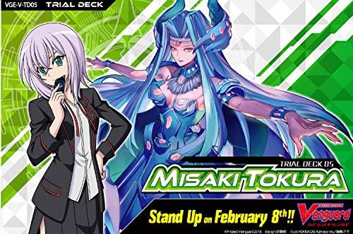 Cardfight Vanguard: Trial Deck V5 - Misaki Tokura (V-TD05)