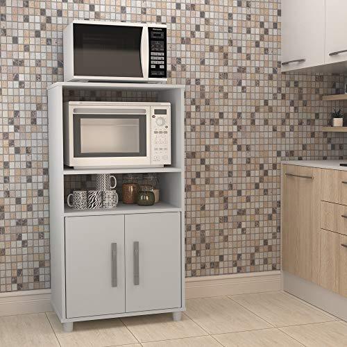 Balcão Para Cozinha 2 Portas 2 Nichos Nova Mobile