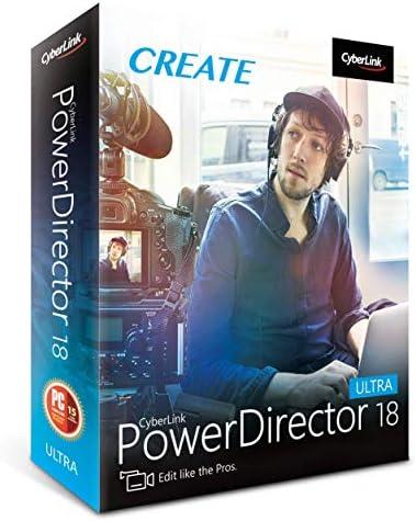 Cyberlink PowerDirector 18 Ultra product image