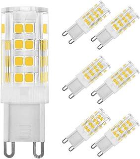G9 LED Bulbs 220V 500LM 360° Beam Angle Energy Saving Light for Home Crystal Ceiling Lights Warm White 7W