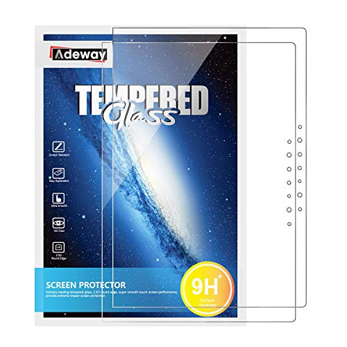 [2 pack]Adeway Screen Protector For Microsoft Surface Laptop 3 (15 inch), 9H Hardness, HD Clear, Anti-Glare, High Sensitivity Screen Protector