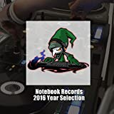 Notebook Records 2016 Year Selection