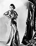 Constance Bennett in Evening Gown by Designer Adrian 1935. Photo Print