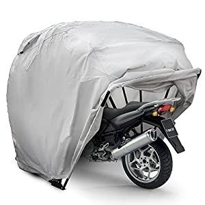 Happybuy Motorcycle Shelter Storage