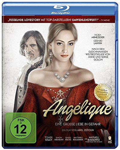 Angélique - Eine große Liebe in Gefahr (Prädikat: Besonders wertvoll) [Blu-ray]