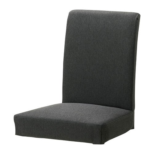 Ikea HENRIKSDAL–Stuhl, Dansbo dunkelgrau