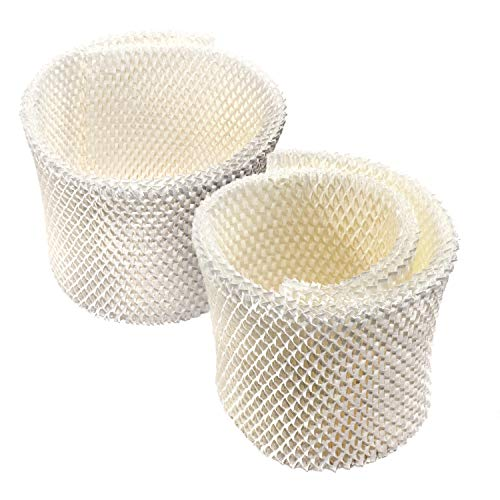 HQRP 2-pack Wick Filter compatible with Kaz 3000, 3300, 3400, EV710 Evaporative Humidifers, WF1 WF-1 Replacement