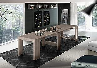 طاولة كونسول- موفرة للمساحة، متعددة الأغراض، قابلة للتمديد - لغرفة المعيشة، غرفة الطعام، الرواق، المكتب - اي ال ام مصنوعة ...