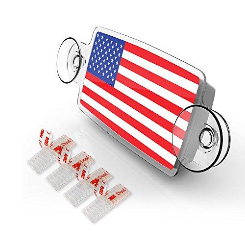 US FLAG - EZ Pass Holder, iPass Holder Illinois/ EZPass Holder for...
