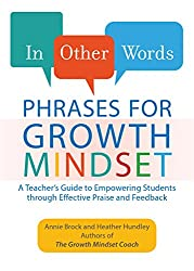 Parenting books: In Other Words Phrases for Growth Mindset