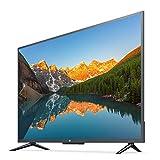 LHONG Geeignet für 4K-Flachbild-WLAN-Fernseher im Büro eines Familienmeetingraums, intelligenter LED-LCD-Fernseher 43 Zoll 60 Hz