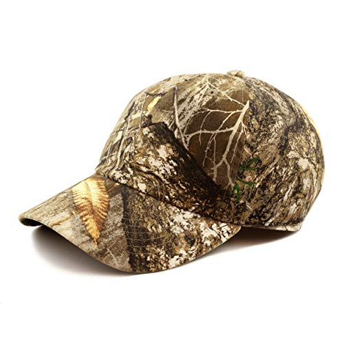 Hunting Hat - Official Licensed Realtree Camouflage Outdoor Sun Cap (Cap - Edge, One Size)