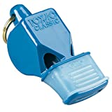 Fox 40 Classic CMG 3-Chamber Pealess Whistle, Blue
