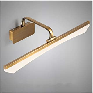 BMJ&C Bathroom Mirror Lights Led Over Mirror Lighting Wall Toilet Mirror Lamp Bath Mirror Front Light Modern Overhead Above Mirror Cabinet Light (Color : White light-40cm)