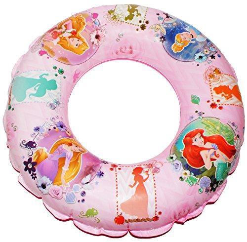 alles-meine.de GmbH Schwimmring aufblasbar -  Disney Princess - Arielle / Rapunzel / Belle  - passend für 2 bis 6 Jahre - Schwimmreifen & Schwimmhilfe - Prinzessin rosa - für M..