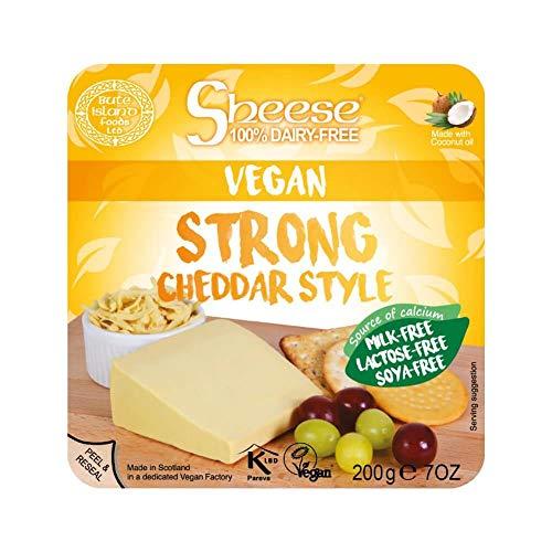 Queso cheddar curado bloque para fundir Sheese 200 g