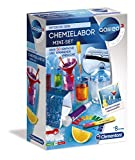 Clementoni 59072 Galileo Science – Chemielabor Mini-Set, Spielzeug für Kinder ab 8 Jahren, 50 Experimente für Zuhause, farbenfroher Experimentierkasten, als...