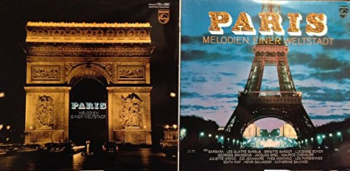 Paris - Melodien einer Weltstadt inkl. Poster (Stadtkarte von Paris)