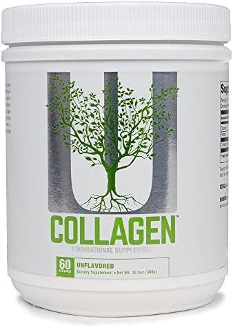 Universal Nutrition Collagen Types I III Protein Powder with Collagen Peptides 300 G 60Count product image