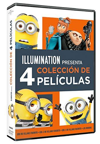 Pack: Gru 1-3 + Minions [DVD]