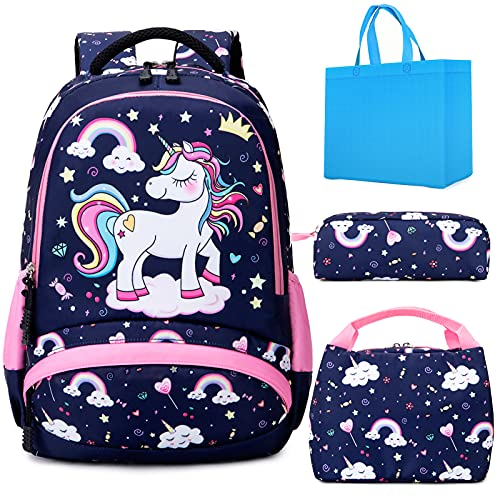Zaino Scuola Elementare Bambina Zainetti Scuola Zaino Bambina Zaini Unicorno Zainetto Unicorno Bambina Zaino per La Scuola Valigia Bambina