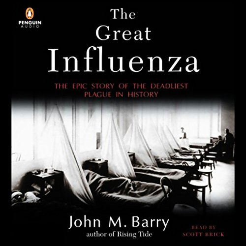 The Great Influenza audiobook cover art