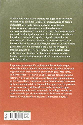 Opiniones del libro IMPERIOFOBIA Y LEYENDA NEGRA de María Elvira Roca Barea