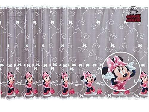 Polontex Gardinen Disney Minnie Maus 150cmB x 155cmL Kinderzimmer